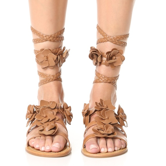 394921b3ea5a3 Tory Burch Blossom Gladiator Sandals Size 10 NEW